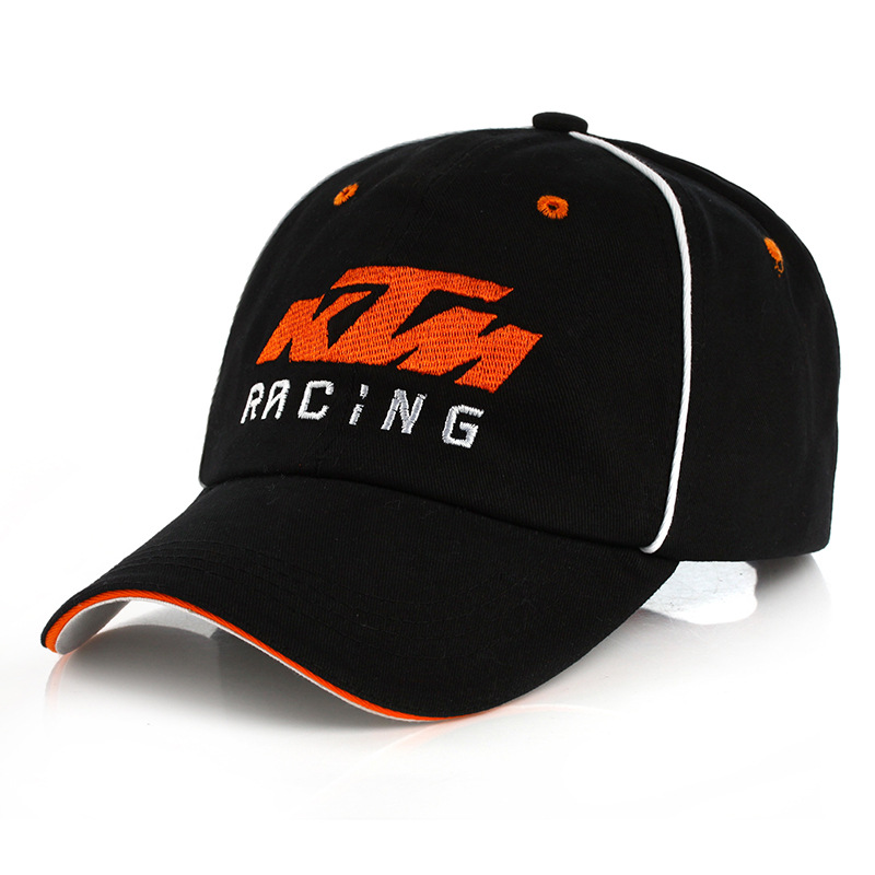 Men Women High Quality Snapback Motorcycle Trucker Hats Motor Racing Cap F1 Moto GP Logo For KTM Baseball Cap Embroidery Hat