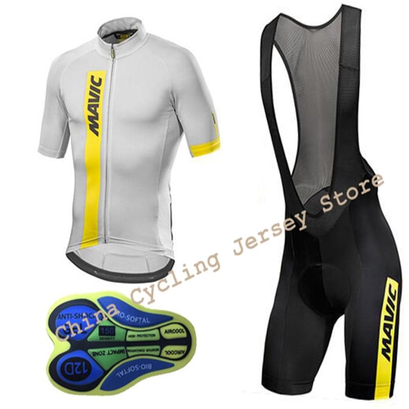 163895b08 ... 2017-Mavic-Short-Sleeve-Cycling-Wear-Breathable-Bicycle- ...