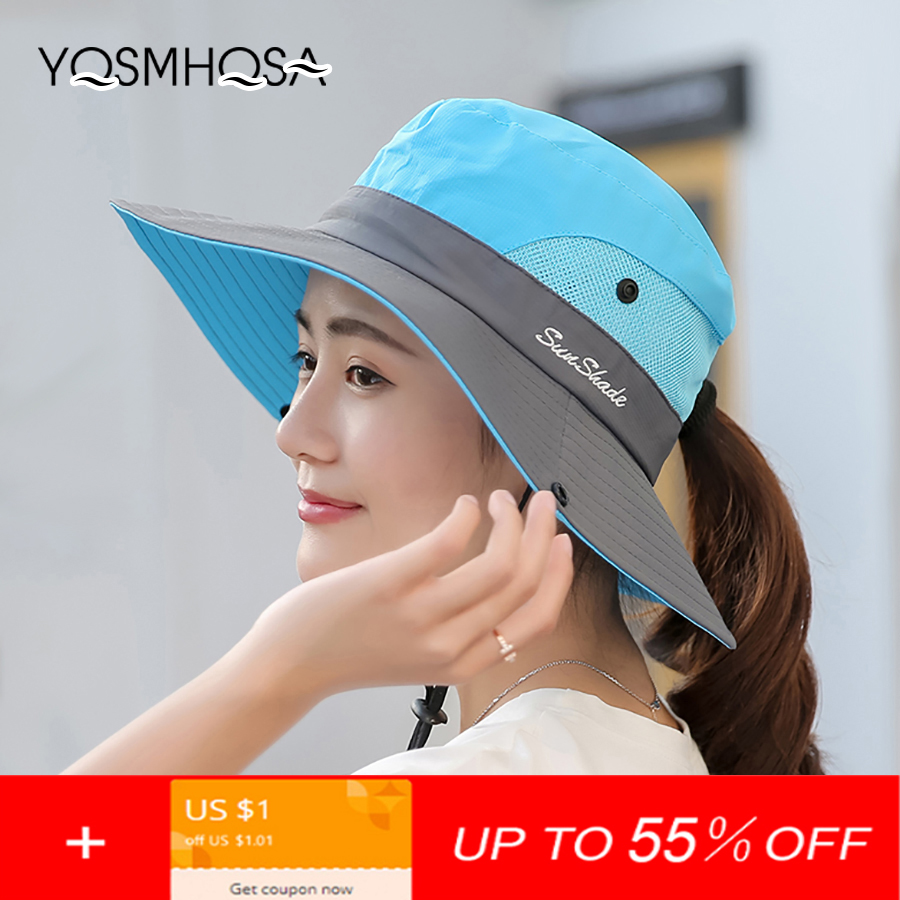 Kopfbedeckungen Für Herren Frauen Männer Sommer Sonnenhut Uv Schutz Breite Krempe Eimer Hüte Für Frauen Faltbare Wandern Angeln Cap Sonnenhut Im Freien Unisex Wh609