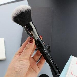 Image 5 - BEILI 1 adet sentetik saç tek büyük toz Fan krem vakıf Stippling kaplama tek makyaj fırçaları