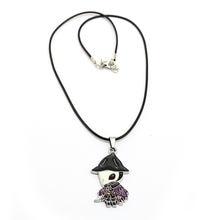 Ожерелье для мужчин и женщин металлическая аниме икона кулон