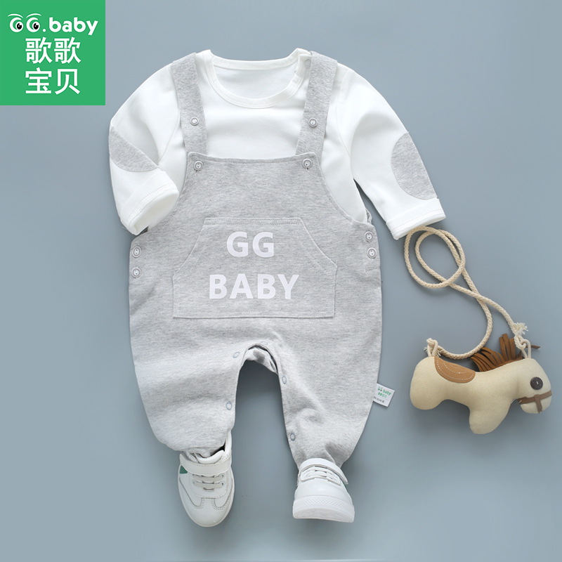 2da6daa7f97a Αγόρια   Βρεφικά ρούχα Spring Suspender Pants Baby Overalls For Newborns  Infant Baby Boys Set Clothes Baby Girls Outfits Boy Suit Outfit Clothing  Sets