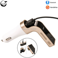 Universal CAR Kit Bluetooth Radio FM Transmitter TF MP3 Player USB Charger A2DP Audio Music Receiver