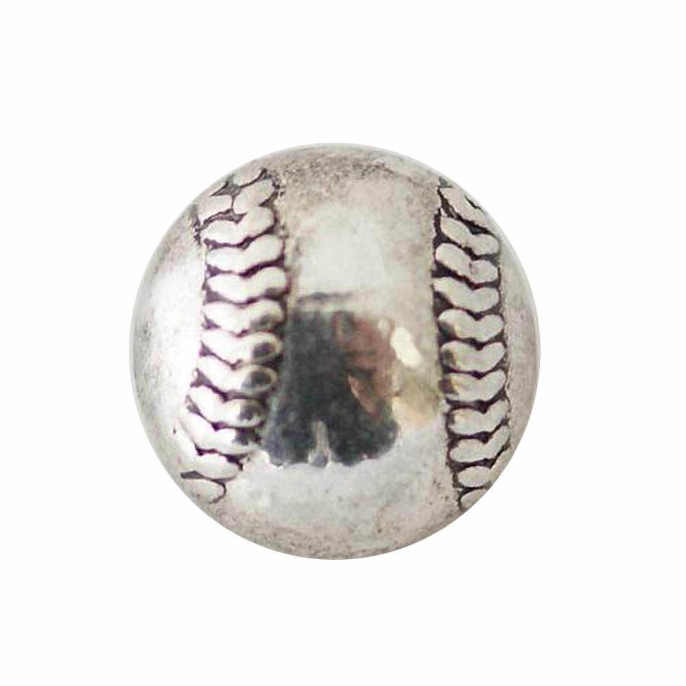 10 pcs/lot 2017 12mm boutons pression boucle avec fond en alliage de zinc pour boutons pression bracelets fit gingembre boutons pression bijoux KB6588-S pour femmes boucle d'oreille