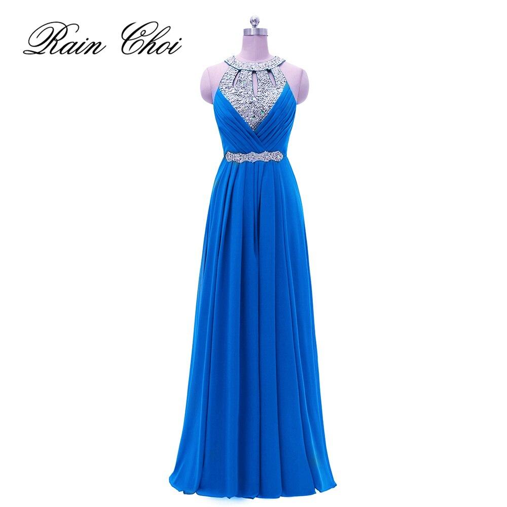 2021 Formal Dresses Wedding Party Gowns Plus Size A Line Chiffon Long Bridesmaids Dress