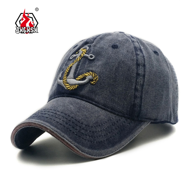 687cc53ede1 JXGXSX 100% Washed Cotton Baseball Caps Men Airforce Hat Cap Embroidery  Casquette Dad Hat for