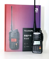 Quansheng TG UV2 plus Walkie Talkie VHF UHF Dual band 10W 200CH Portable cb radio UV2 plus Transceiver with 4000mAh battery