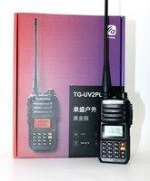 Quansheng TG UV2 plus Walkie Talkie VHF UHF Dual band 10W 200CH Portable cb radio UV2 plus Transceiver with 4000mAh battery