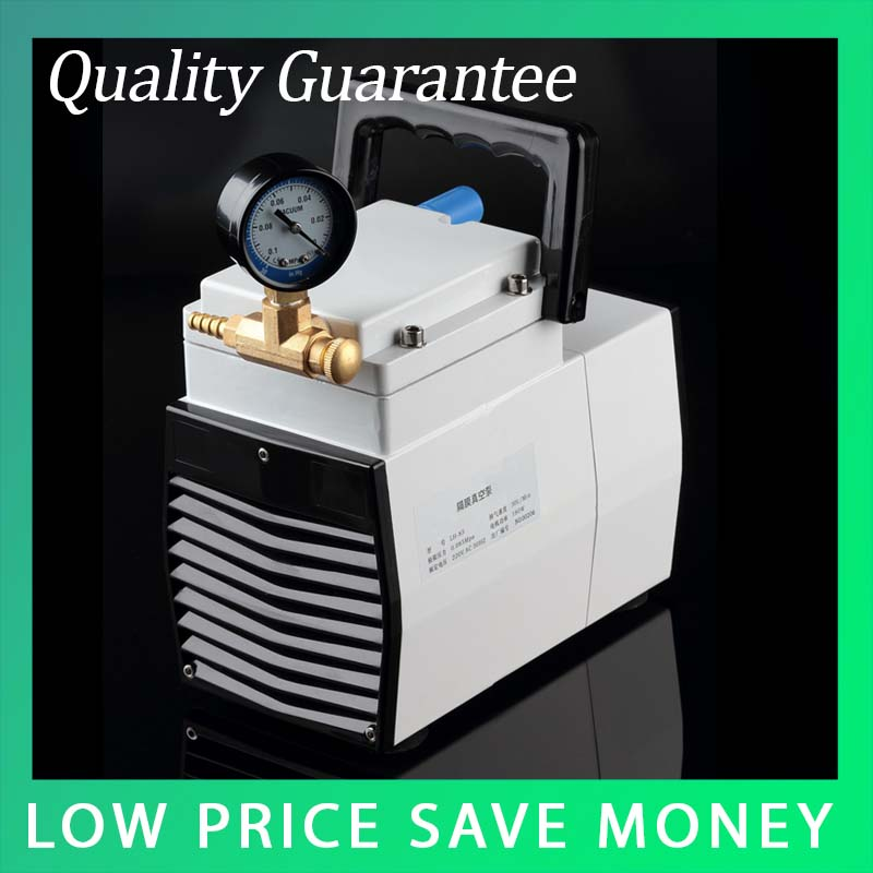 LH-85 220V/110V Plastic 1 Stage Pneumatic Oilless Lab Electric Small Diaphragm Suction Air Medical Vacuum Pump