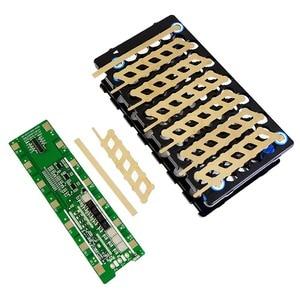 Image 5 - 13S 48V 6P 13S 78 orificios, soporte para batería níquel BMS 6P13S 6*13 soporte + níquel + BMS 13S 48V 20A BMS para 48V 10 20Ah batería li ion