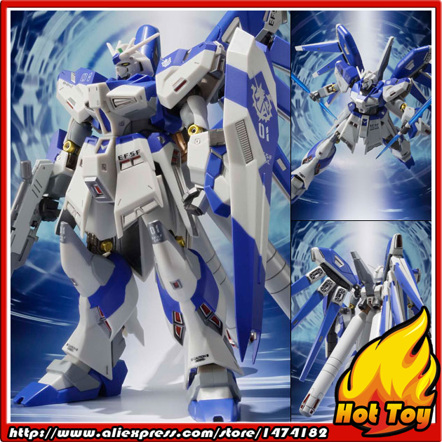 Original BANDAI Tamashii Nations METAL Robot Spirits Action Figure - RX-93-v2 Hi-V/Nu Gundam from Gundam Char's Counterattack original bandai tamashii nations robot spirits exclusive action figure rick dom char s custom model ver a n i m e gundam