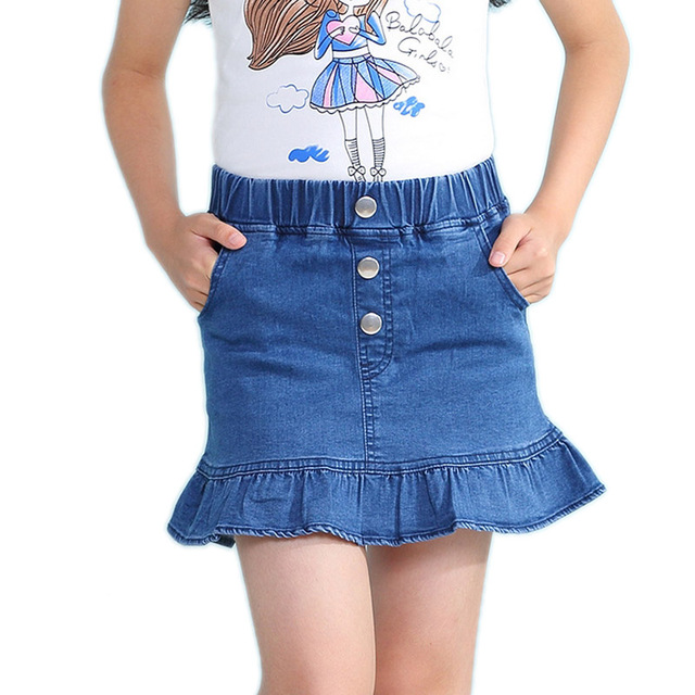 b0c4db9337 Bebé niña falda de verano de 2019 suave bebé niña falda de volantes de niños  faldas