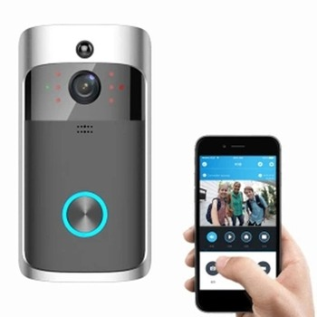 M3 Night Vision WIFI Smart Video Doorbell Wireless Portable Home Door Bell Cordless Phone Intercom Smart Home Parts 1