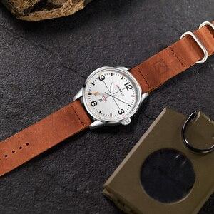 Image 2 - CURREN Einfache mode stil Business Armbanduhr Beiläufige Quarz Männer Uhren Männliche Uhr Relogio Masculino Horloges Mannens Saat