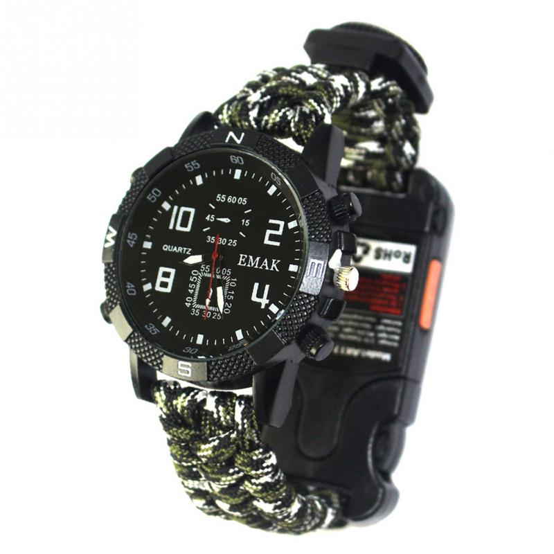 aeProduct.getSubject()  EDC Tactical multi Outside Tenting survival bracelet watch compass Rescue Rope paracord gear Instruments package HTB11oerFNGYBuNjy0Fnxh45lpXas