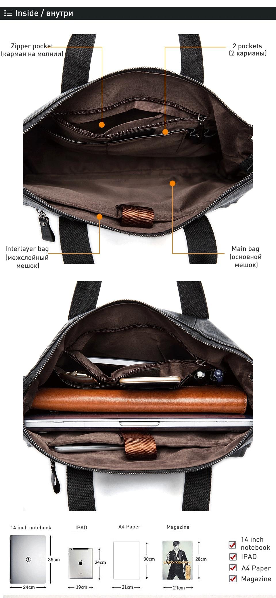 High Quality business man briefcase