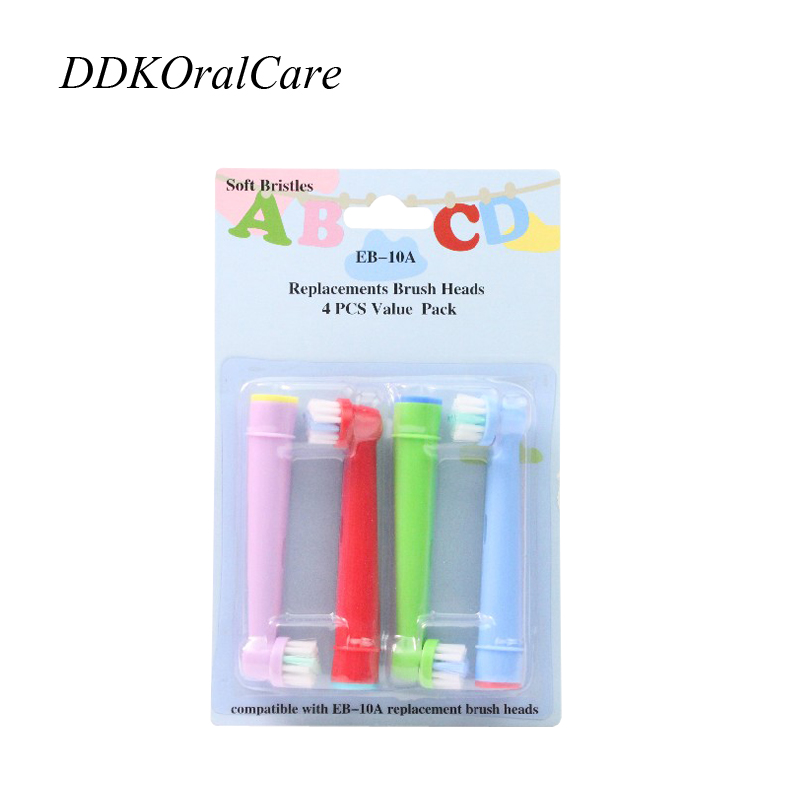 20Pcs 5Packs font b ToothBrush b font Heads Replacement EB 10A For Oral B Kid font
