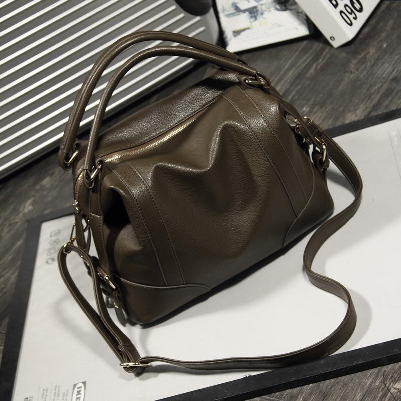Women Shoulder Ladies Handbag PU Portable Bags Handbags Leather Bag ... 0d88cebb61a9f
