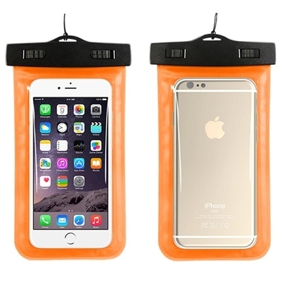 new product 7a159 85033 US $1.96 14% OFF|PVC Luminous Waterproof Phone Case Cover for Cell Phone  Touchscreen Mobile iphone 7 Water Proof Underwater Transparent Pouch Bag-in  ...