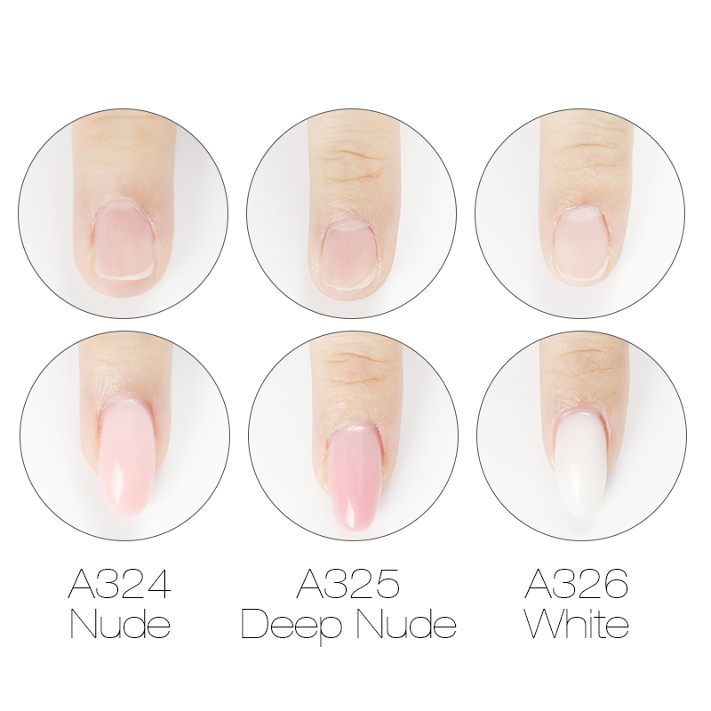 Image 3 - ROSALIND Poly gel Nail Polish 10ml Hybrid Semi Permanent UV Nails Art Poly builder Set Gel Varnish polish Gel For Nail Extension-in Nail Gel from Beauty & Health