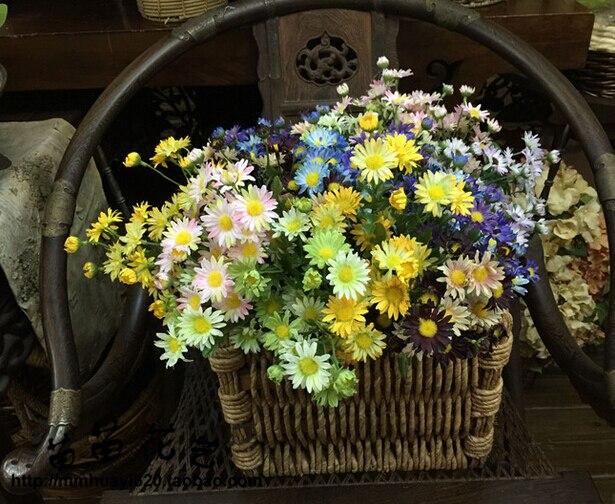 Artificial Gerbera Spring Daisy Silk Flowers  For DIY Party Wedding Decoration MA2199