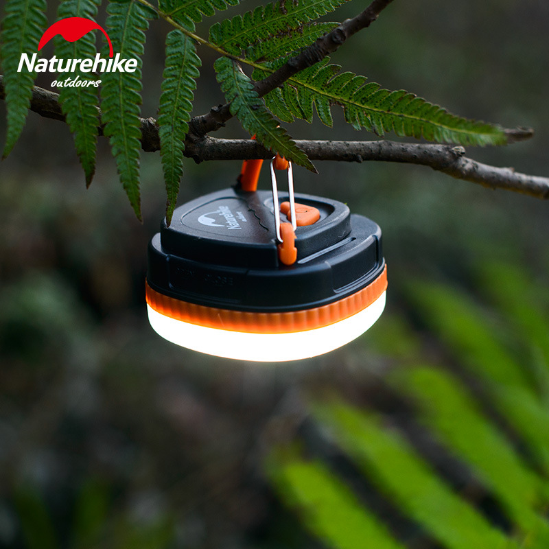 Naturehike Portable Outdoor LED Camping Light Magnetic Namiot Lampa Wiszący Namiot Emergency Led Lights Dwa kolory
