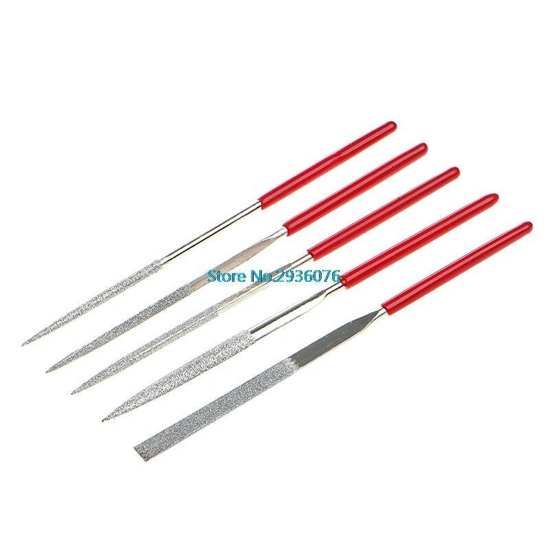Werkzeuge Hilfreich 5 Teile/satz Nadel Dateien Kit Carving Schmuck Diamant Glas Stein Holz Handwerk Werkzeug Mar11 Handwerkzeuge