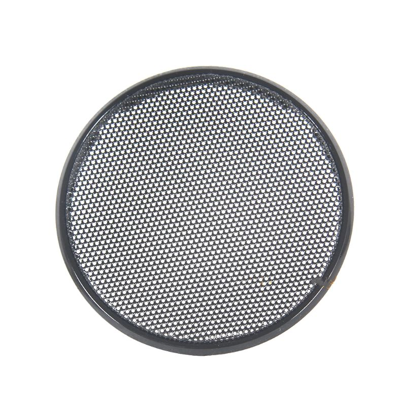1/2/3/4/5/6 Inch Black Car Speaker Grill Mesh Round Horn Protective Cover Circle Enclosure Net DIY Decorative Accessories