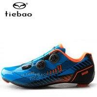 TIEBAO cycling shoes 2018 road zapatillas deportivas mujer carbon men's outdoor sport bike bicycle sneakers women bike shoes men