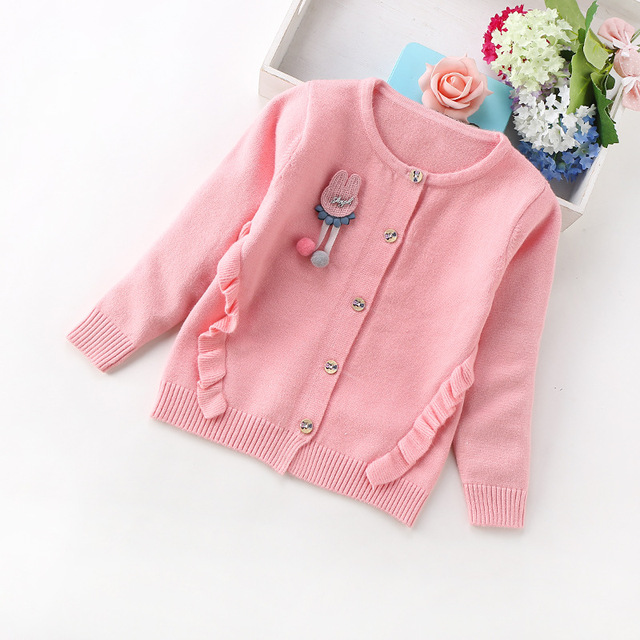 d10c55aa3 Baby Girls Clothing Winter Pullover Children Sweaters Long Sleeve ...