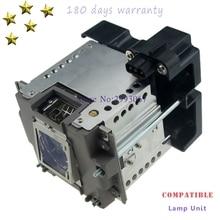 VLT XD8000LP kompatybilny lampa projektora z obudową dla Mitsubishi WD8200U/XD8100U/UD8400U/UD8350U/GX 8000/WD8200/ XD8000U