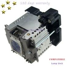 미쓰비시 wd8200u/xd8100u/ud8400u/ud8350u/VLT XD8000LP/wd8200/xd8000u 용 하우징이있는 GX 8000 호환 프로젝터 램프