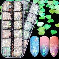 Голографические блёстки для ногтей