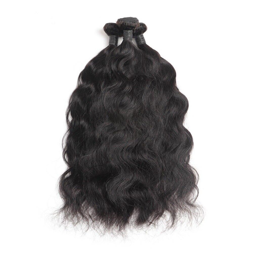 Malaysian Hair Bundles 3 4 Bundles Natural Wave Hair Human Hair Weave Extension 8 30inch Remy