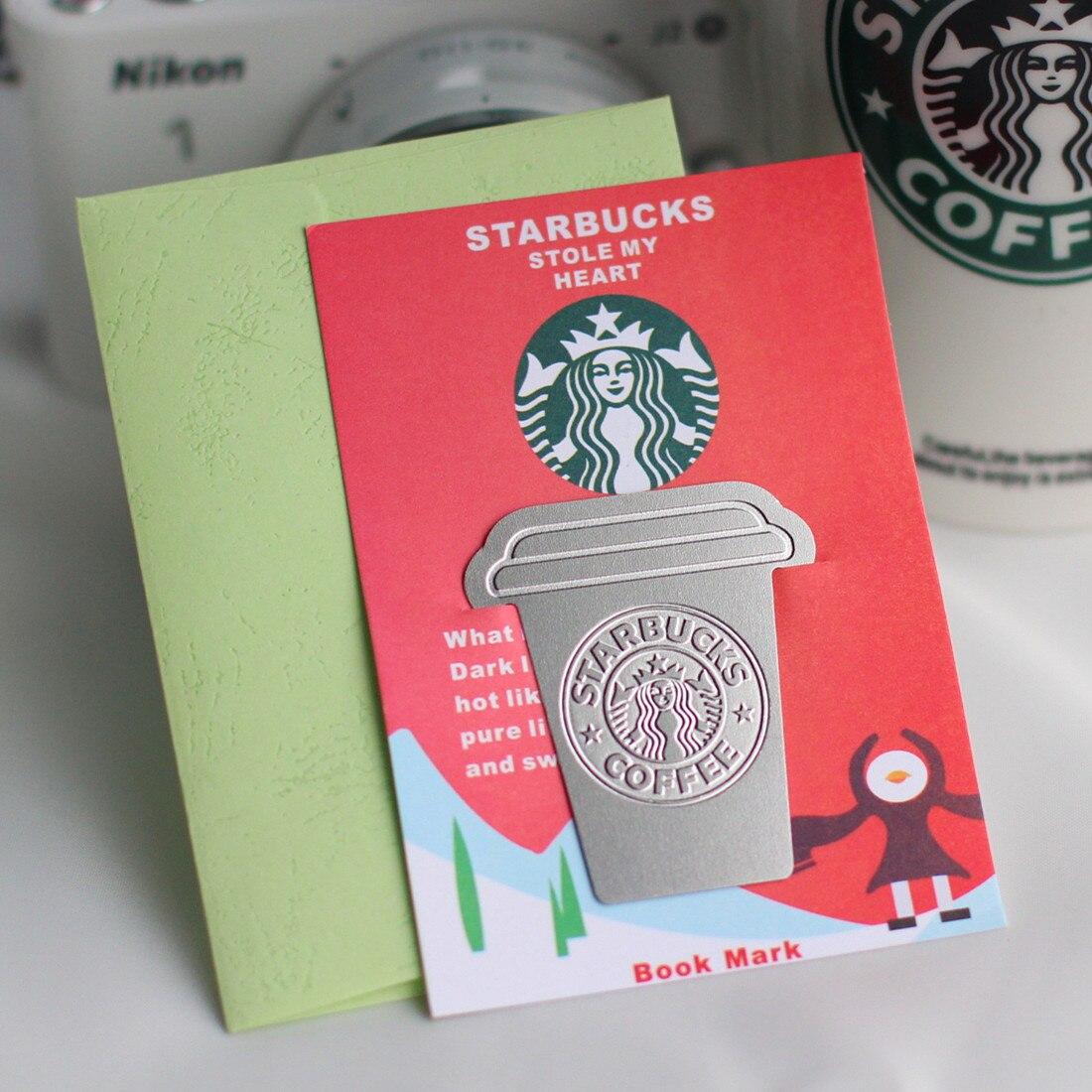 Милые, миленькие в японском стиле («Каваий»), Кофе чашки Закладка для книги Книга Держатель для изготовления обложек книг Бумага креативные ...