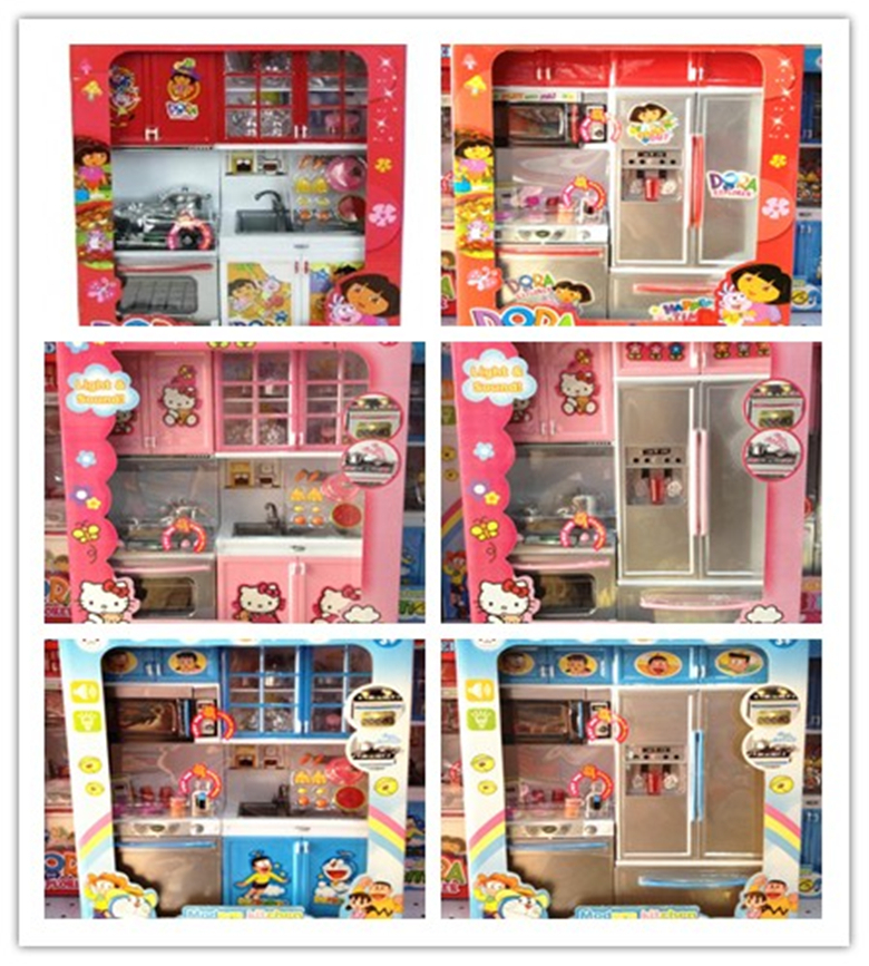 Dora Kitchen Set | Learning Education Kitchen Classic Toys Baby Pretend Play House