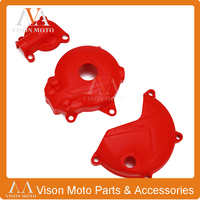 Motorcycle Engine Magneto Stator Water Pump Clutch Side Cover Protector For KAYO NC250 T6 K6 BSE J5 RX3 ZS250GY 3 4 Valves