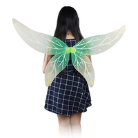 Spirit Wings Girl And Adults Show Clothing Green Butterfly Peri Fairy Wings Halloween Costume Christmas Products