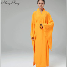 Donne shaolin monaco buddista vesti monaco buddista monaco abbigliamento  femminile abbigliamento CC136(China) e98daab05a3