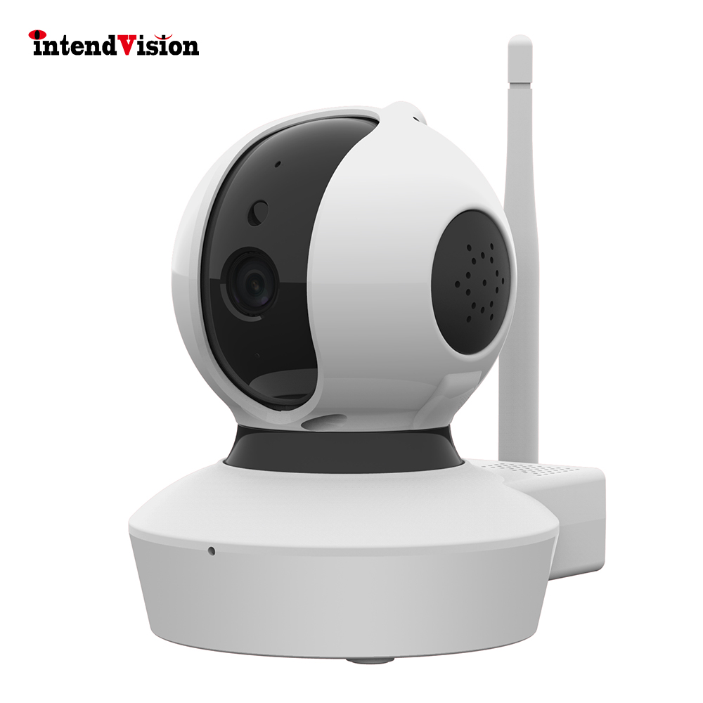 Intendvision Wireless IP Camera Two way Audio Pan Tilt Full HD 1080P Security Mini Dome Day Night Wifi Camera IDC23S