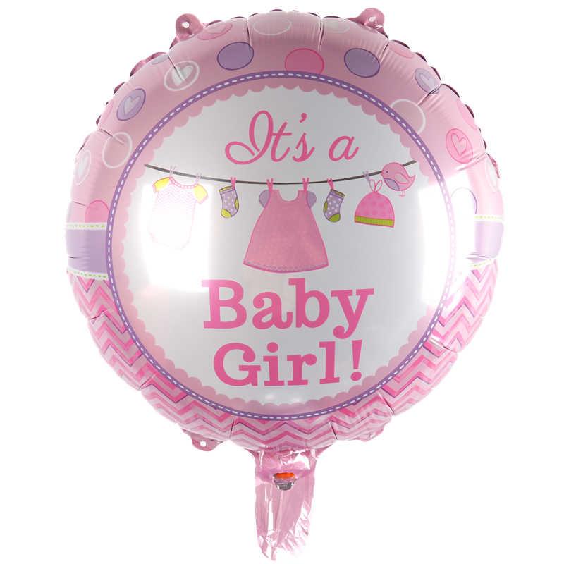18 אינץ חדש מסיבת ריהוט צעצועי ילדים עגול lovelyaluminum בלוני בלונים סיטונאי תינוקת ילד