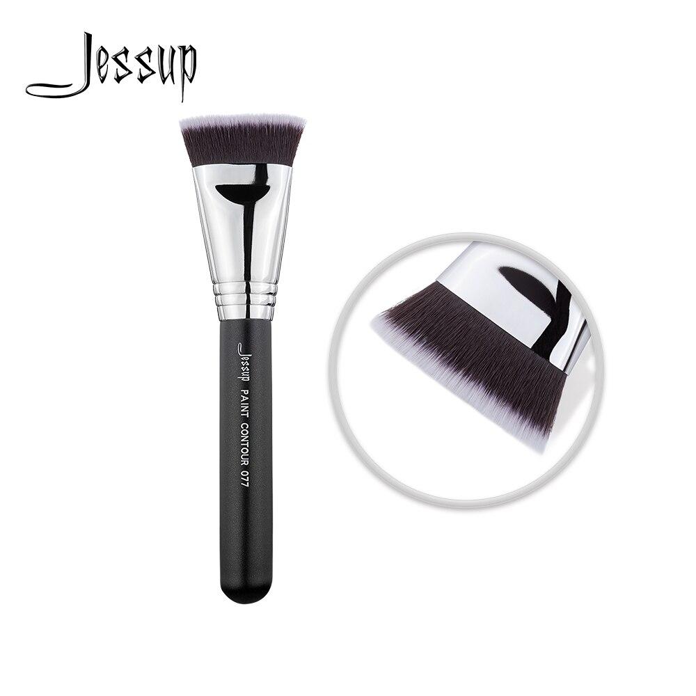 Jessup brocha bronceadora para maquillaje facial, alta calidad, herramientas de belleza, contorno de pintura, 077|rizador de pestañas| - AliExpress