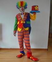 Cosplay Costume Halloween Costume Clown Circus Clown Costume Men S Clothing Men S Tuxedo
