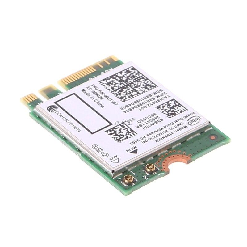 Intel Dual Band Bluetooth Wireless-AC 3165 BT4.0 2.4G/5G 433M Next Generation Form Factor NGW Net Card 5