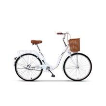 Велосипед мужчины и женщины взрослые портабль ходьба велосипед взрослый студенческий город коммутационные велосипеды для отдыха