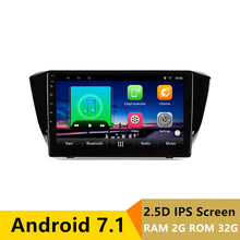 10″ 2+32G 2.5D IPS Android 7.1 Car DVD Multimedia Player GPS For Skoda Superb 2016 2017 audio car radio stereo navigation