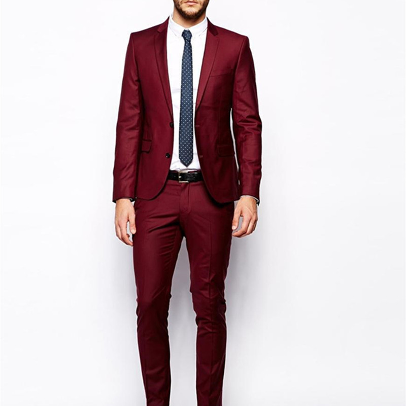 Compare Prices on Dark Red Suit Men- Online Shopping/Buy Low Price ...