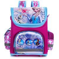 New arrivel backpack snow queen School Bag Orthopedic Children School Bag School Backpack Mochila Infantil for girls