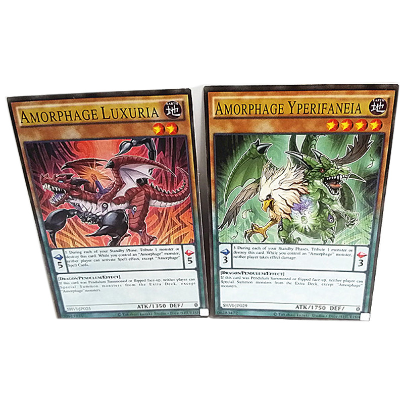 216pcs /set Yugioh Cards Kids Game Cards Toys English Version Boys Girls Yu Gi Oh Game Collection Cards Christmas Gift