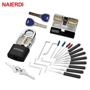 NAIERDI Practice Lock Pick Set